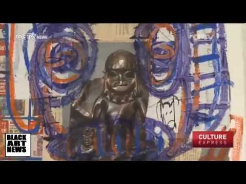Ivory Coast artist Aboudia takes over New York