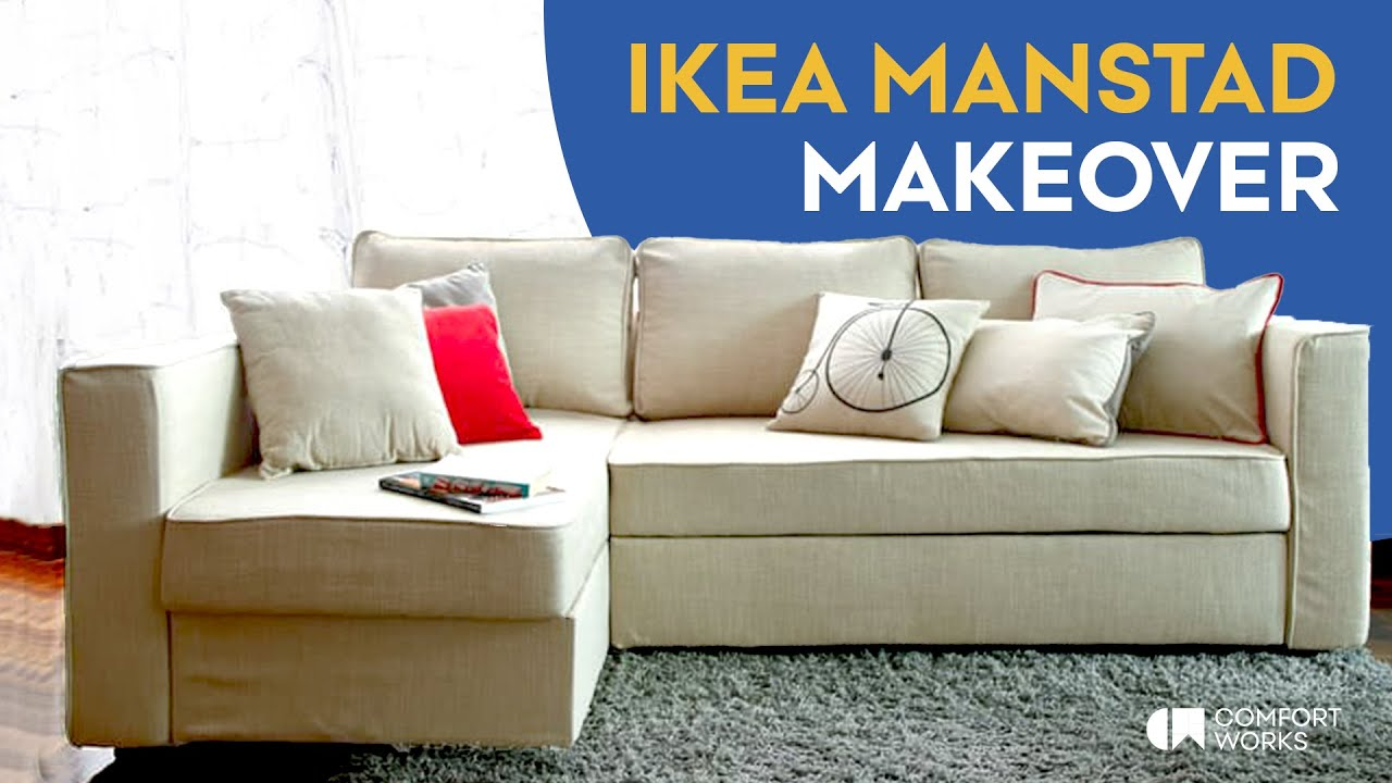 Ikea Manstad Sofa Bed Makeover Comfort Works Sofa Covers