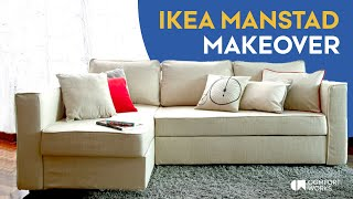 IKEA Manstad Sofa Bed Makeover | Comfort Works Sofa Covers
