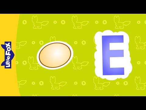 Letter E | Phonics Song by Little Fox