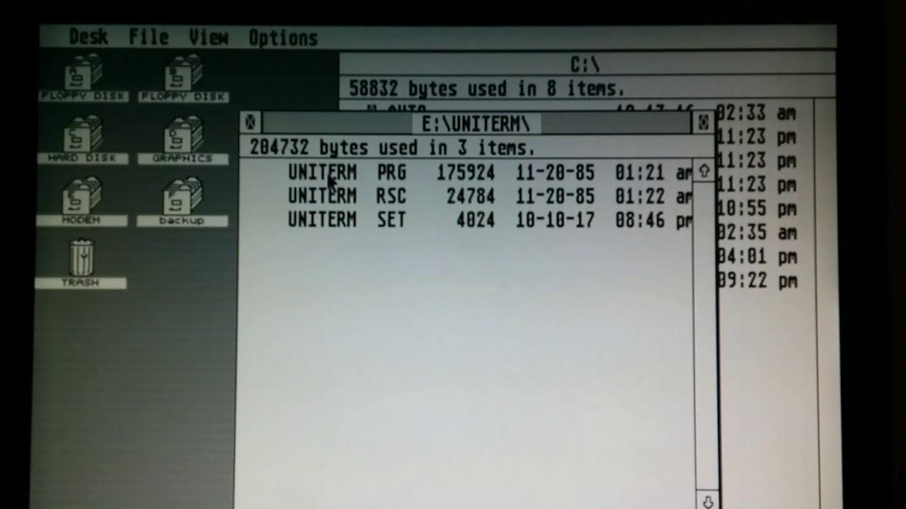 Atari ST to Raspberry Pi