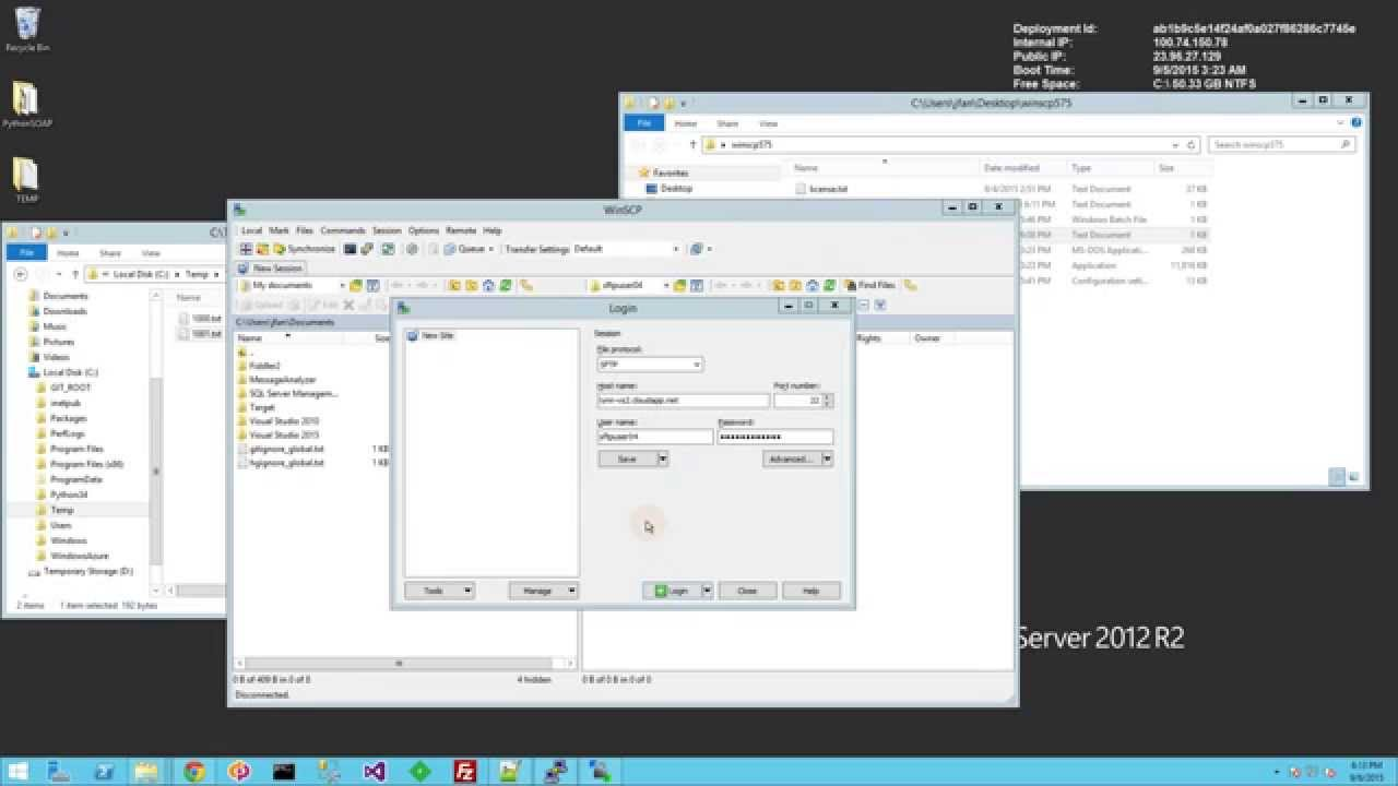 SFTP - Windows Script to Automate Synchronize Remote to Local Directory  using WinSCP