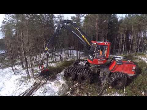 Stewart forestry harvester