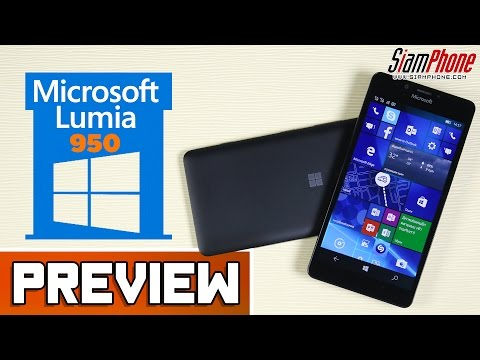 [Preview] : Microsoft Lumia 950 by SiamPhone