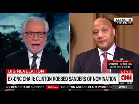 "Wolf Blitzer: It's A ""Shocking Revelation"" That Clinton Controlled The DNC A Year Before Dem Primary"