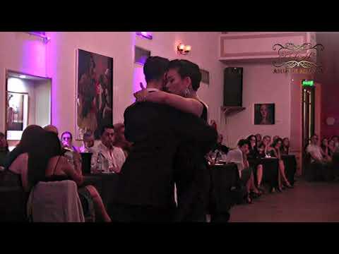 Tango exhibición, Kei Hasegawa, Germán Landeira,  Tango Buenos Aires, 2019
