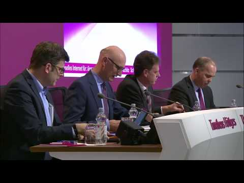 Social Media Post: Press conference on the financial year 2017 – Tim Höttges