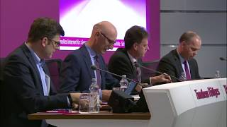 Press conference on the financial year 2017 – Tim Höttges thumbnail