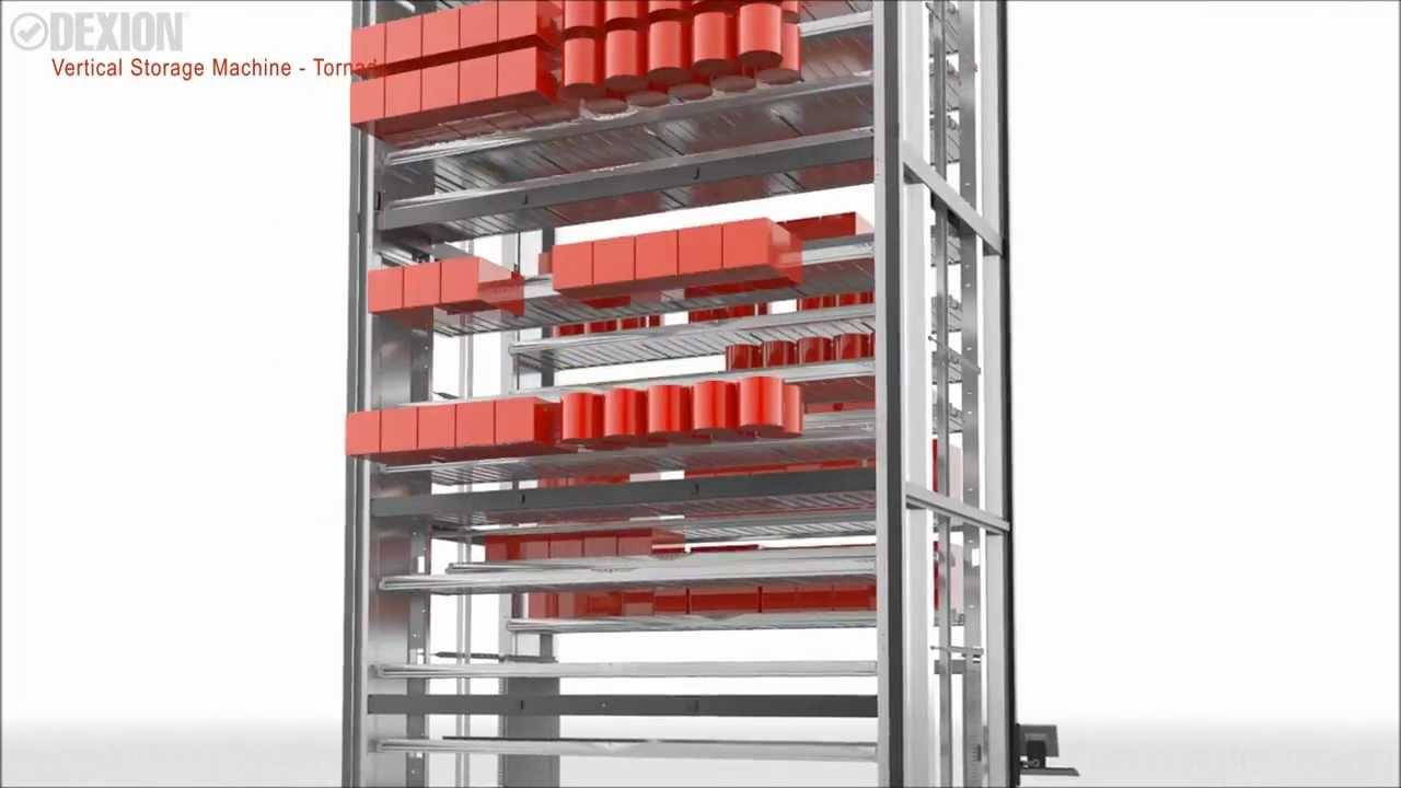 2013 Dexion Vertical Storage Machine Tornado