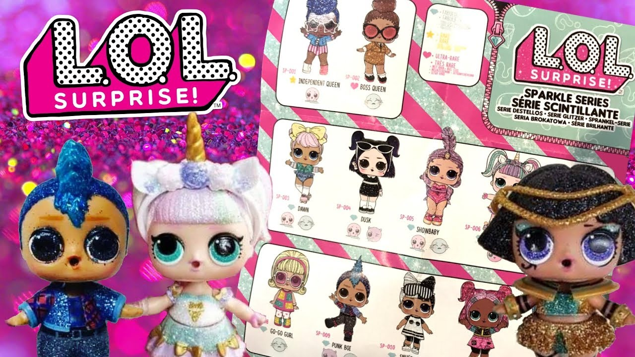 Surprise SPARKLE SERIES Ball Big Sister Doll LOL 2 3 5 6 Wave IN STOCK 1 L.O.L