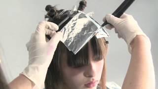 Окрашивание Апельсин - видео-урок по креативному салонному окрашиванию