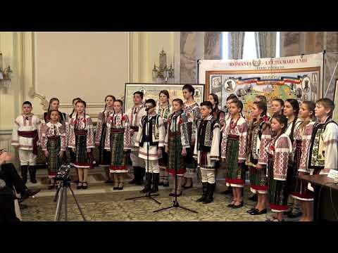 Grupul Folcloric Perla din Cernauti - Parlament 24mar2018