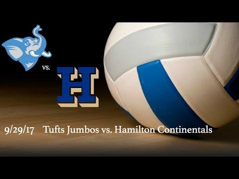 Fall 2017 - Volleyball - Tufts Jumbos vs. Hamilton Continentals
