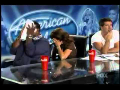 American idol-Randy can't stop laugh with these guy!