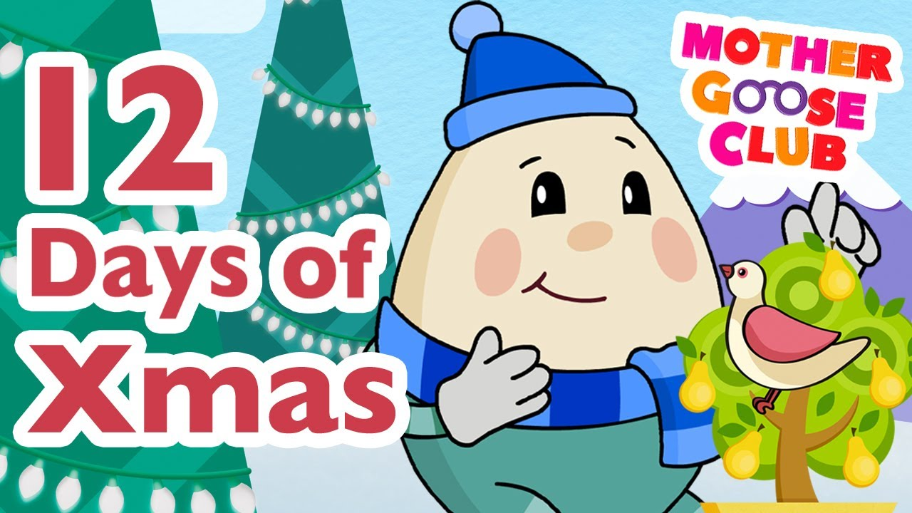small resolution of the twelve days of christmas mother goose club christmas songs youtube