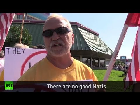 "Anti-Trump supporter: ""There are no good Nazis"""