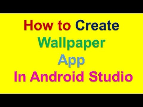Creating Wallpaper App In Android Studio (In Hindi) - YouTube