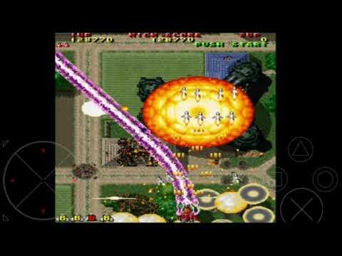 Nostalgia Game Jadul#Raiden II Seibu Kaihatsu Level 1-2 Of 8