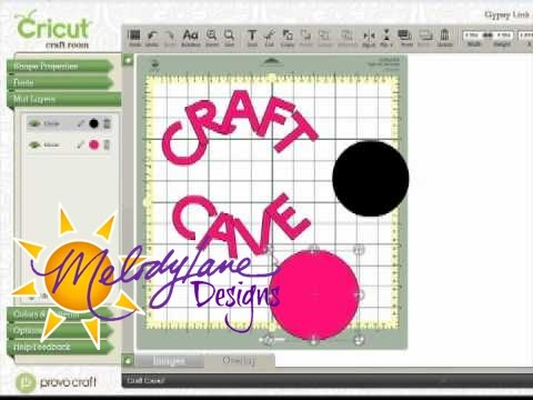 Cricut Craft Room Curved Words YouTube