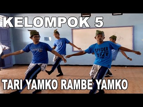TARI YAMKO RAMBE YAMKO | Kelompok 5 (XII IPA3) versi Smanda