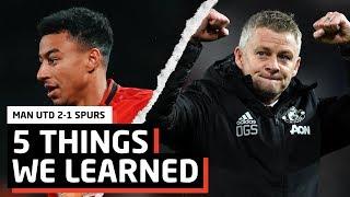 Rashford's on Fire   5 Things We Learned   Man Utd 2-1 Spurs   With The Betfair Exchange