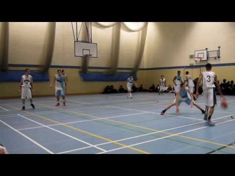 Harrow High Basketball - HHS v Lampton School (Nov 2013)