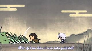 Hanbei intenta raptar a Kojuro :o! Para los subtítulos en inglés, a...