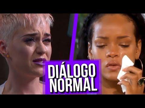 Diálogo Normal Rihanna e Katy Perry #MENOTAFELIPENETO