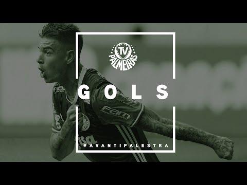 GOLS - Palmeiras 4 x 0 Atlético-PR - Campeonato Brasileiro 2016