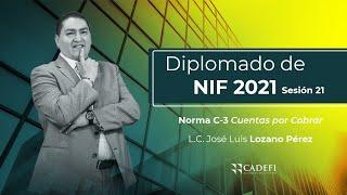 Cadefi - Diplomado De NIF 2021 Sesión 21 - Norma C-3 Cuentas Por Cobrar - 16 Marzo
