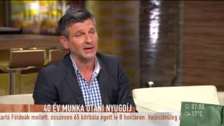 Nyugdíj: Ha a korhatár csökken, az összeg is fog? - 2015.07.29. - tv2.hu/mokka