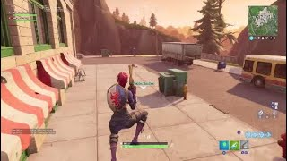 "Fortnite under the map glitch ""do not imitate"""