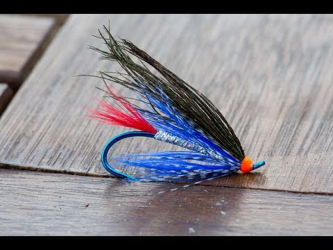 Sea Trout Fishing Fly; Mr Fish - Teifi / Towy Rivers