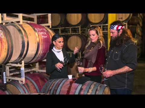 Duck Dynasty's Korie & Willie Robertson Make Wine