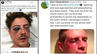 White People Attacked At Black Panther Movie? @Hodgetwins