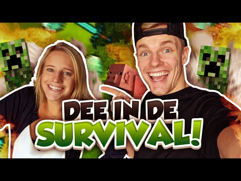 DEE IN DE SURVIVAL! - Minecraft Survival #58