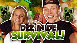 DEE IN DE SURVIVAL! - Minecraft Survival #58