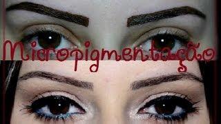 Micropigmentação de sobrancelhas - Amanda Domenico