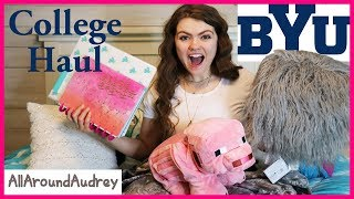 BACK TO SCHOOL COLLEGE HAUL! / AllAroundAudrey