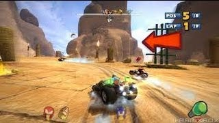 Sonic And Sega All-Stars Racing: Transformed | PS3 | Gameplay