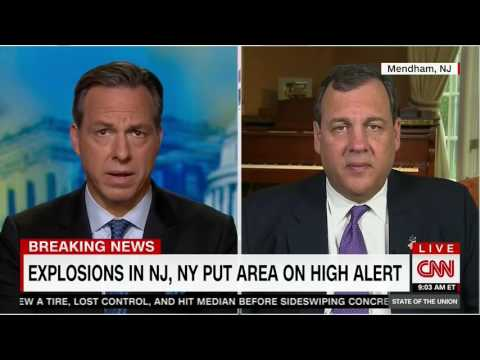 Governor Christie: We Are Working With Authorities To Bring Whoever Is Responsible To Justice