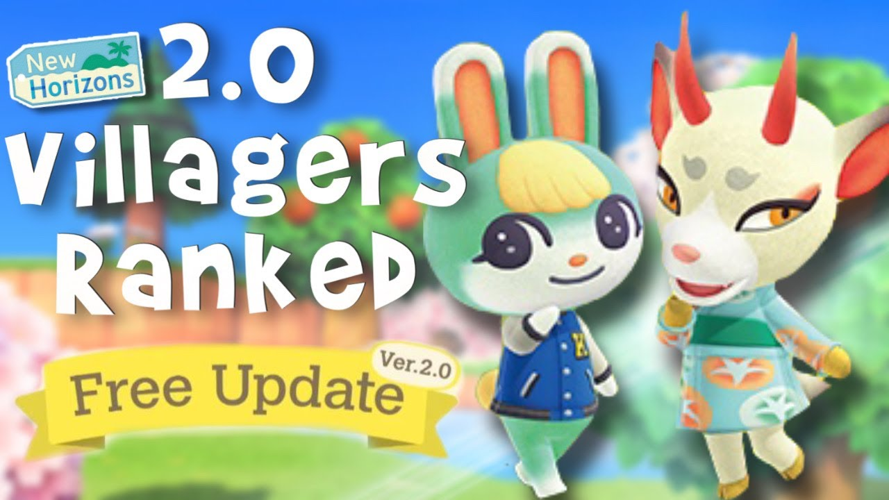 Download Ranking the NEW 2.0 Animal Crossing Villagers!