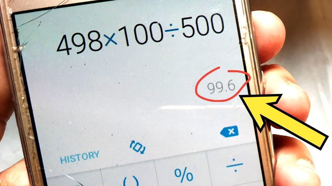 Percentage calculator test Omni Calculator