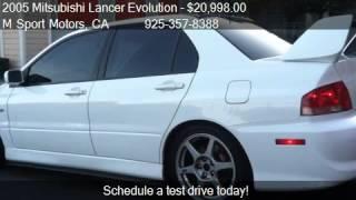 2005 Mitsubishi Lancer Evolution Evolution VIII - for sale i