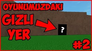 😱 HIDDEN PLACE IN OUR GAME !! 😱 / Roblox Lumber / Roblox Turkish / Melih Brother