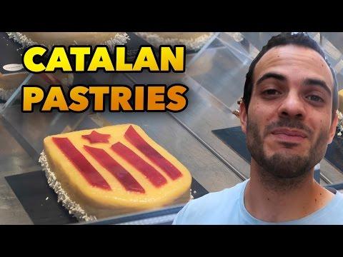CATALAN PASTRIES IN CATALAN FESTIVITY - BARCELONA DAILY VLOG #77