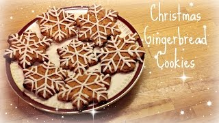 Gingerbread Christmas Cookies / Biscuits | ThoseRosieDays