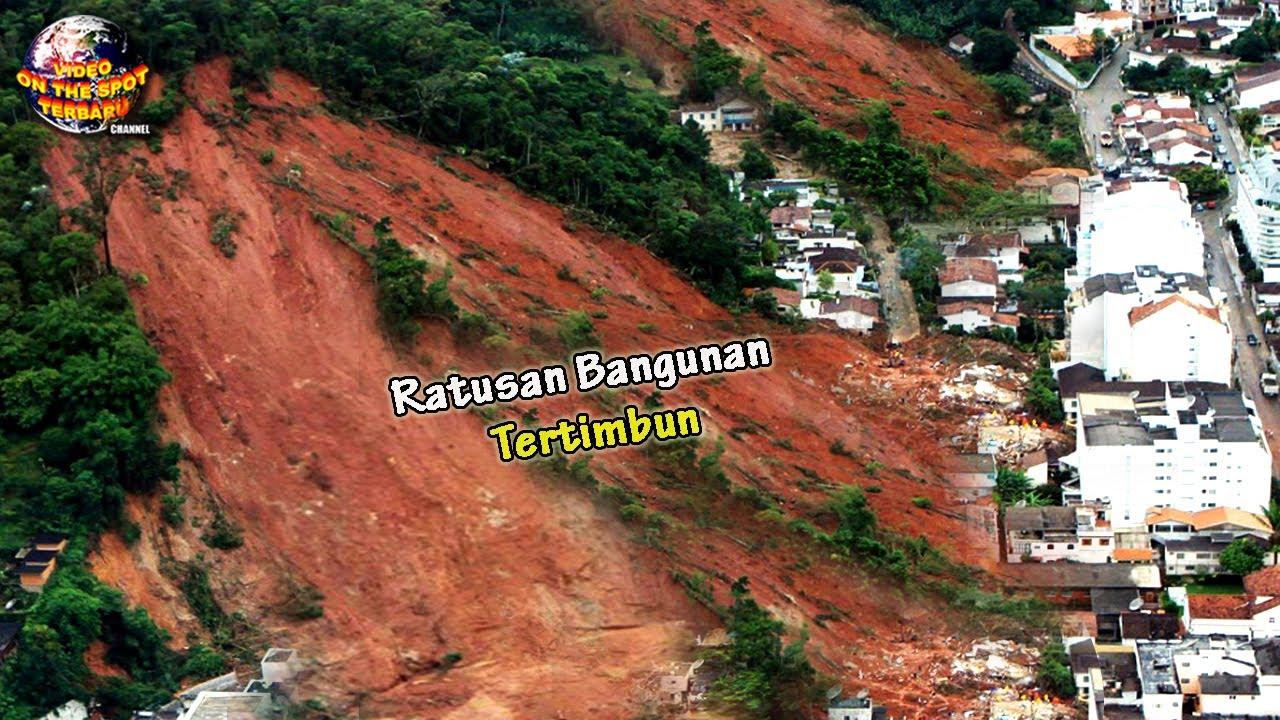 Tanah Bergerak Skala Besar Tiba² Menghantam Wilayah ini, Ratusan Bangunan Seketika Menghilang.!!