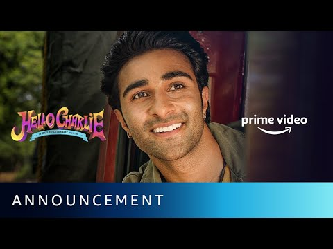 Say Hello To Charlie - Announcement | Aadar Jain, Jackie Shroff, Shlokka Pandit | Amazon Prime Video