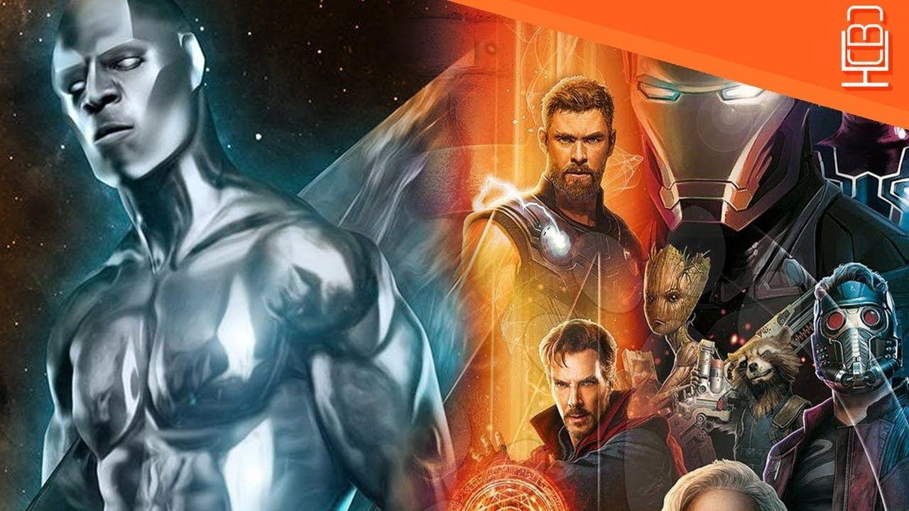 silver surfer shows up in avengers infinity war cast list - youtube